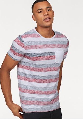 John Devin T-Shirt, mit Inside out Print kaufen