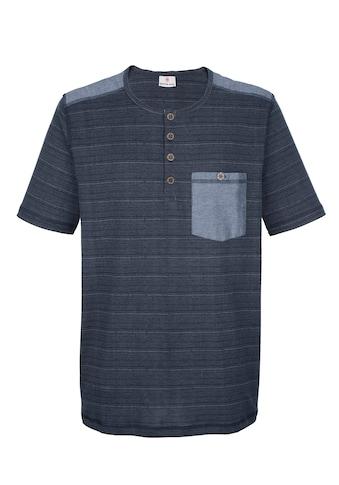 Boston Park T - Shirt mit Chambray - Besätzen kaufen