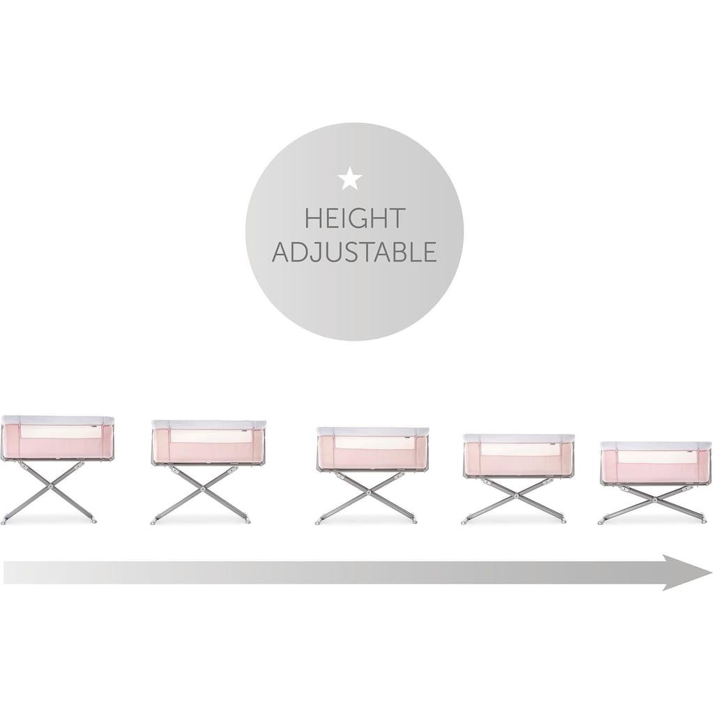 Hauck Beistellbett »Face to me, pink«