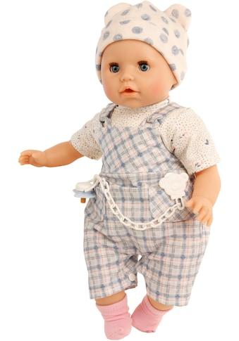 Schildkröt Manufaktur Babypuppe »Schnullerbaby Amy, hellblau/weiß«, Made in Germany kaufen