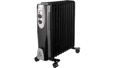 Gutfels Ölradiator »HR 32011 sw«, 2500 W kaufen