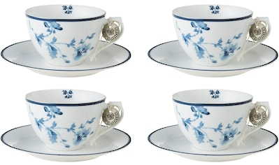 LAURA ASHLEY BLUEPRINT COLLECTABLES Cappuccinotasse »China Rose«, (Set, 8 tlg., 4... kaufen
