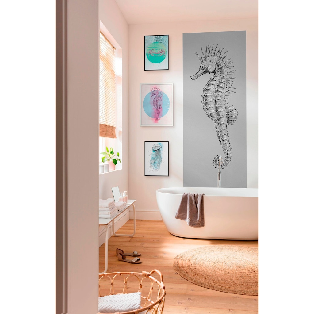 Komar Vliestapete »Seahorse Panel«, Strand