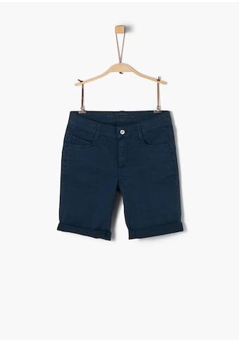 s.Oliver Twill - Shorts_für Jungen kaufen