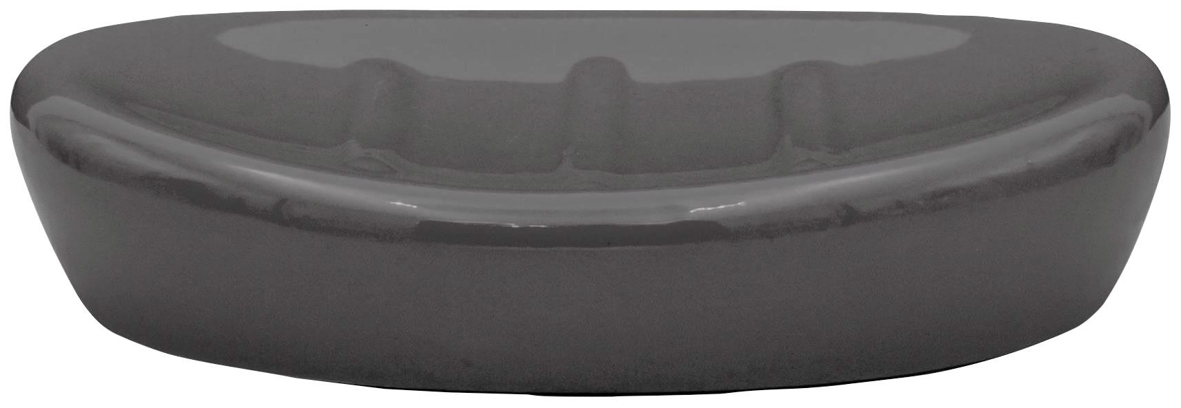 Ridder Seifenschale Belly, Keramik grau Bad Sanitär