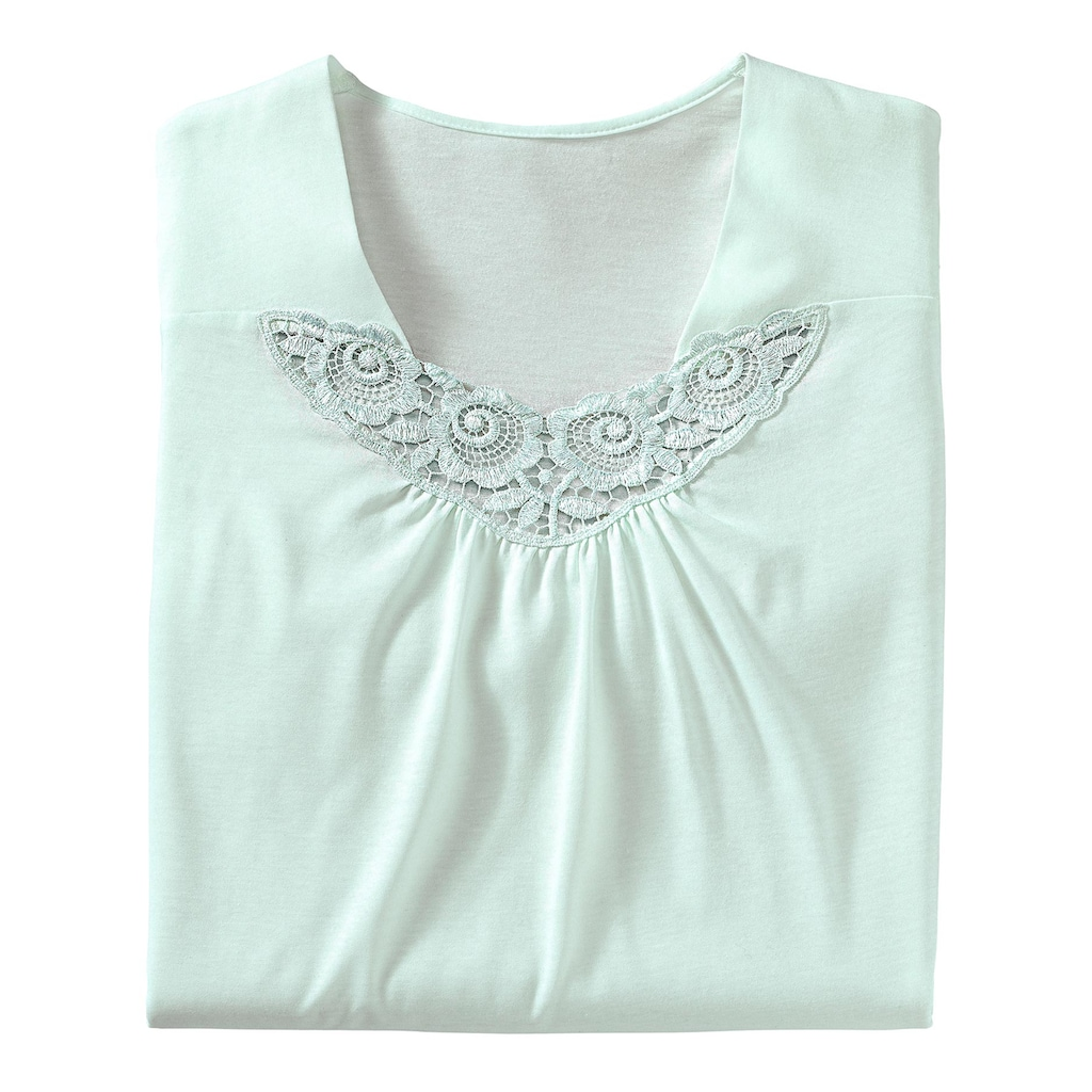Ascafa Nachthemd »Kurzarm-Nachthemden«