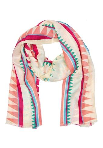 CASSANDRA Schal mit tollem Zacken-Design kaufen