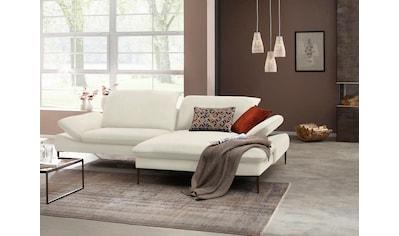 W.SCHILLIG Ecksofa »enjoy&MORE«, mit Sitztiefenverstellung, Füße bronze... kaufen
