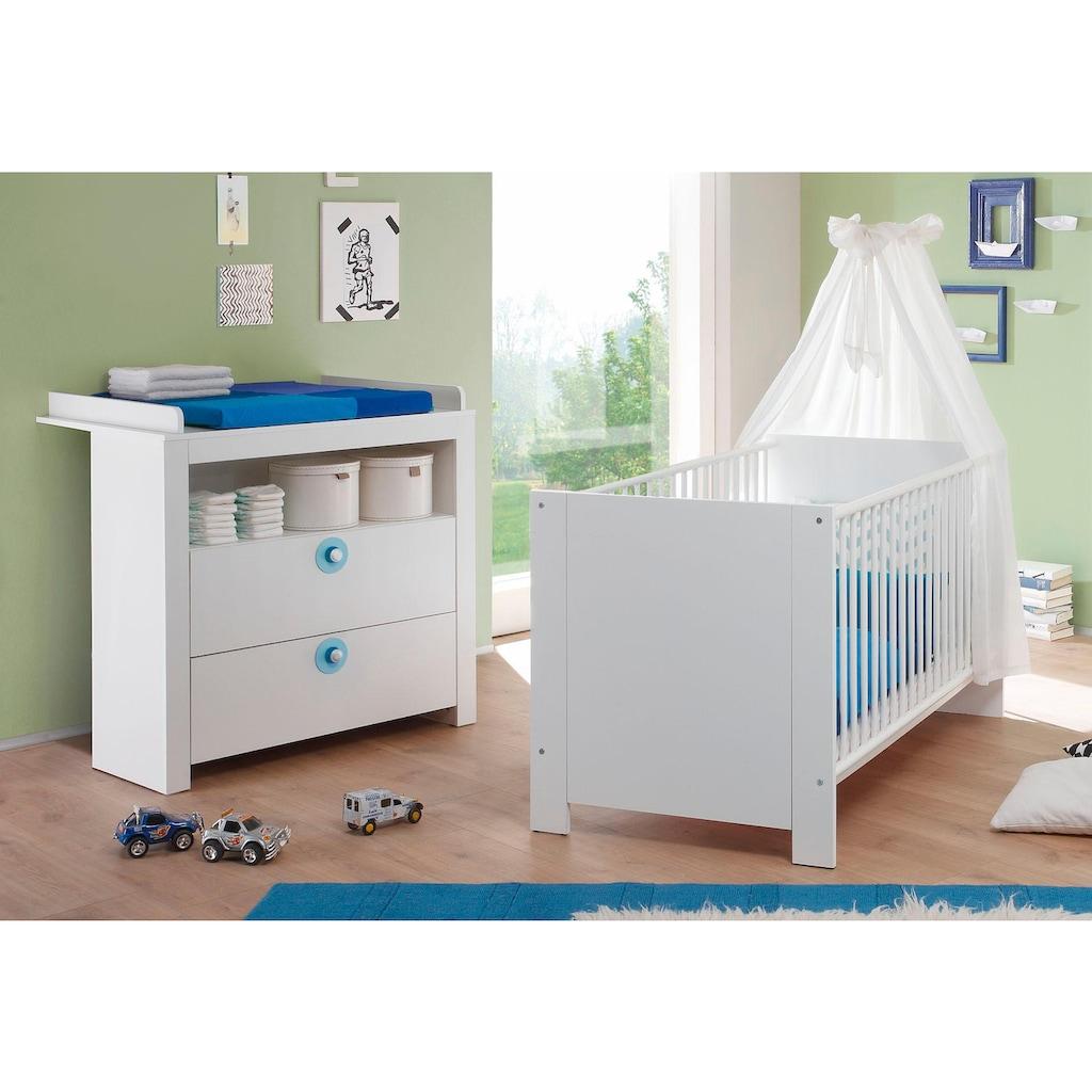 Babymöbel-Set »Trend«, (Spar-Set, 2 St.), Bett + Wickelkommode