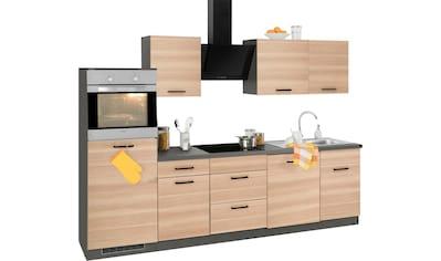 wiho Küchen Küchenzeile »Esbo«, ohne E-Geräte, Breite 280 cm kaufen