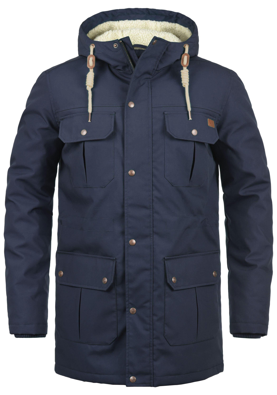 Solid Winterjacke Chara Teddy   Bekleidung > Jacken > Winterjacken   Blau   Solid