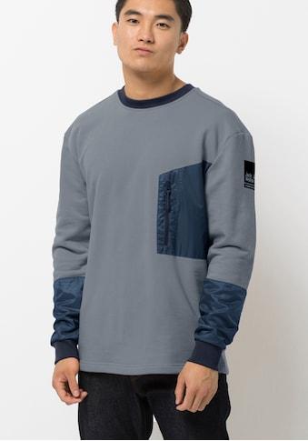 Jack Wolfskin Sweater »365 THUNDER POCKET CREW M« kaufen