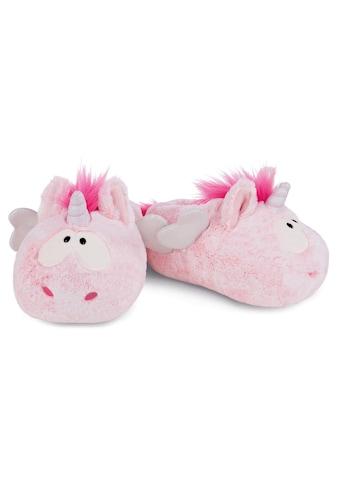 Nici Plüsch Hausschuhe »Pink Harmony« kaufen