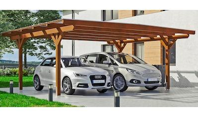 SKANHOLZ Doppelcarport »Odenwald«, BxT: 640x541 cm kaufen