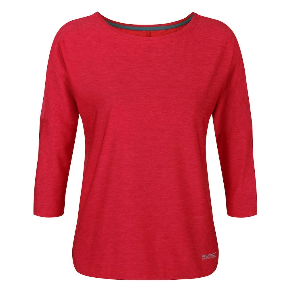 Regatta T-Shirt »Damen Pulser mit 3/4-Ärmel«