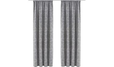 Vorhang, »Zary«, my home, Kräuselband 1 Stück kaufen