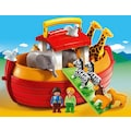 Playmobil® Konstruktions-Spielset »Meine Mitnehm-Arche Noah (6765), Playmobil 1-2-3«, Made in Europe