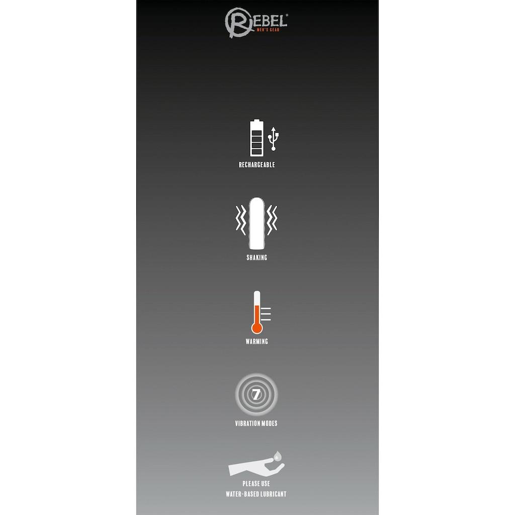 REBEL Masturbator, mit 3 Funktionen