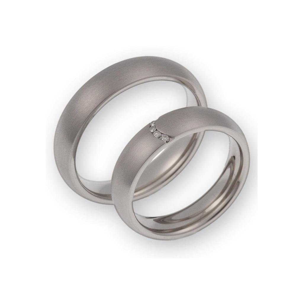 CORE by Schumann Design Trauring »20006153-DR, 20006153-HR, ST003.14«, Made in Germany - wahlweise mit oder ohne Diamanten