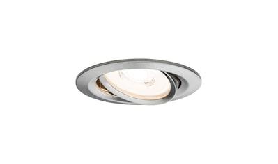 Paulmann LED Einbaustrahler »1er-Set dimmbar schwenkbar Reflector Coin 6,8W Eisen«, 1... kaufen