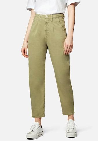Mavi 5-Pocket-Hose »LAURA-MA«, Mom fit mit verkürzten Bein und hohen Bund kaufen