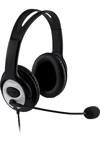 Microsoft »LifeChat LX - 3000« Headset kaufen