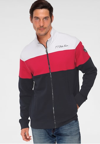 TOM TAILOR Polo Team Sweatjacke, mit Logoprint kaufen