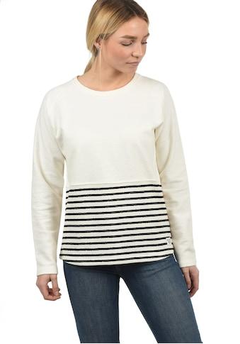 DESIRES Sweatshirt »Piper«, Rundhalspullover mit Streifen kaufen