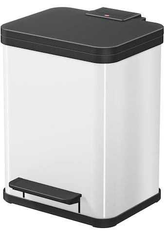 Hailo Mülleimer »Öko Duo Plus M«, weiß, Fassungsvermögen ca. 2x 9 Liter kaufen