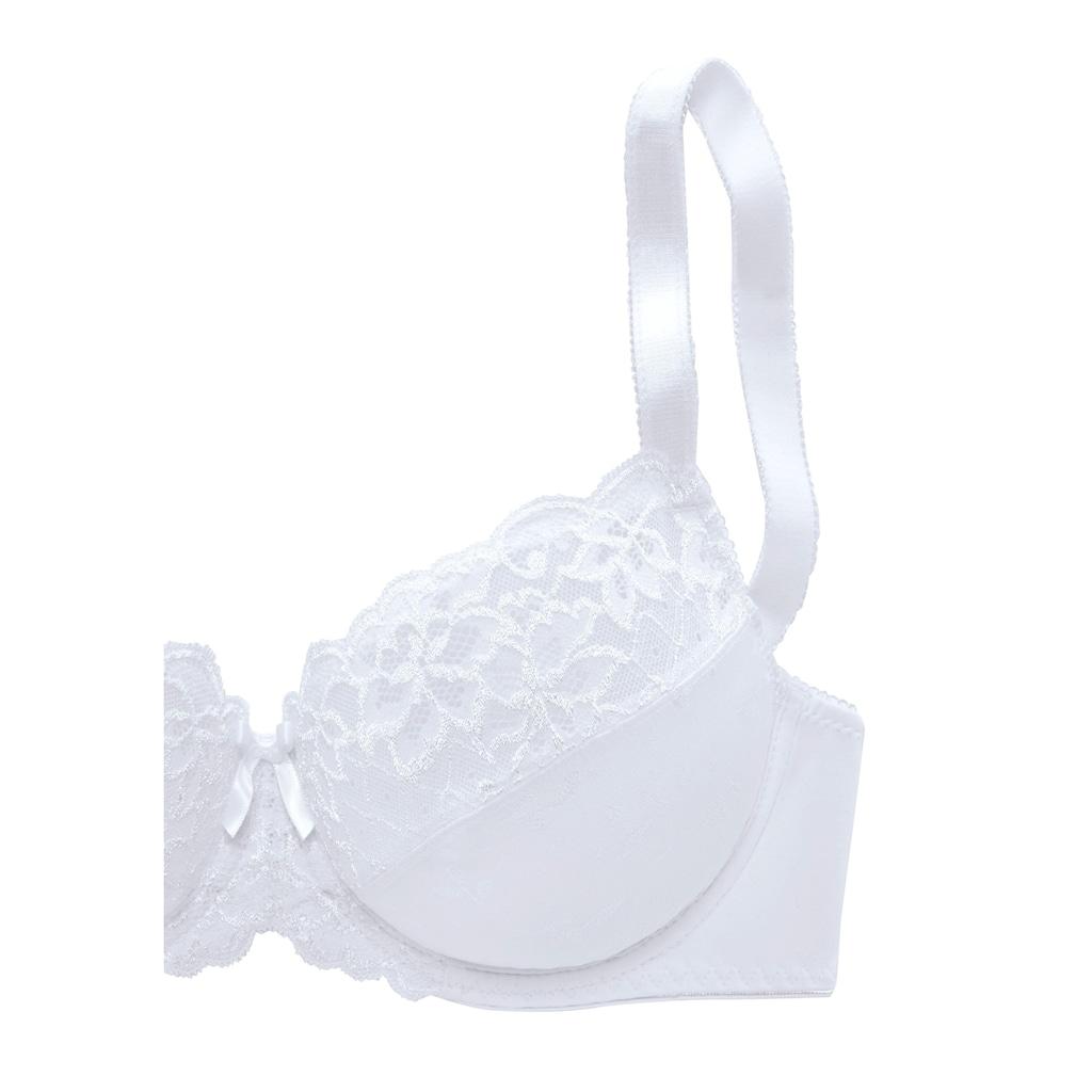 petite fleur Bügel-BH, mit elastischer Spitze
