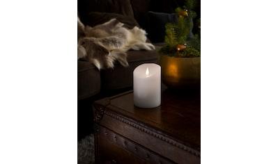 KONSTSMIDE LED Echtwachskerze mit 3D Flamme kaufen