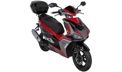 GT UNION Motorroller »Striker«, 50 cm³, 45 km/h, Euro 5, 3 PS, inkl. Topcase kaufen