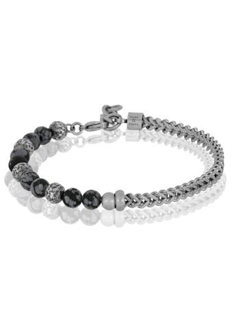 JULES & GENTS Armband »#lava Schwarz/Grau« kaufen