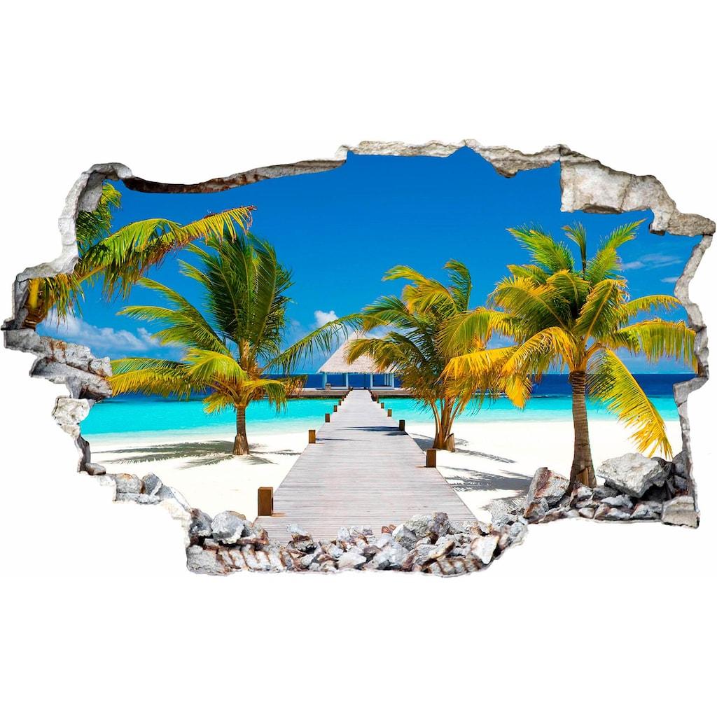 Wall-Art Wandtattoo »Der weg ins Paradies«