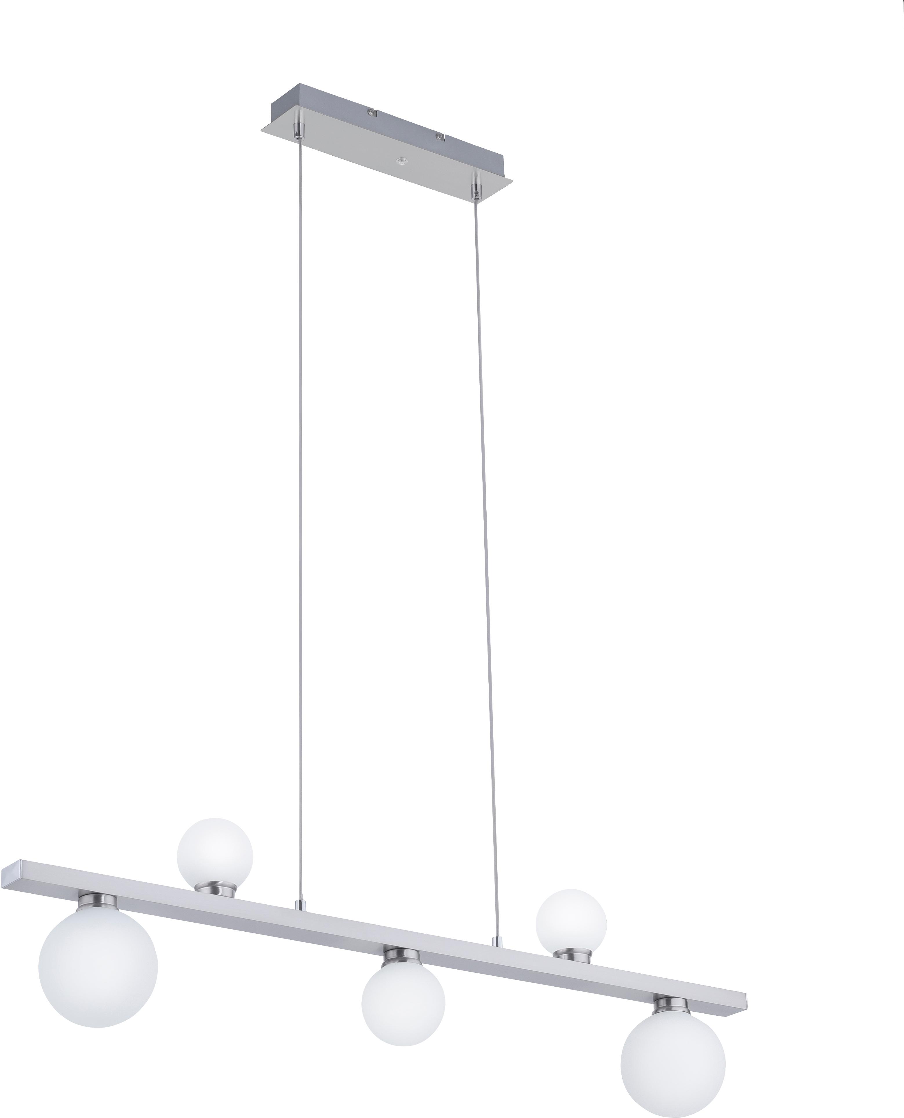 TRIO Leuchten LED Pendelleuchte DICAPO, LED-Board, 1 St., Farbwechsler, Hängeleuchte, RGBW, dimmbar, Smart Home, Farbwechsel