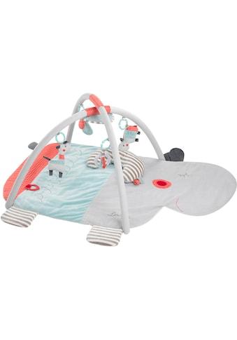 Fehn Spielbogen »Loopy & Lotta 3-D-Activity-Decke Nilpferd«, mit Krabbeldecke kaufen
