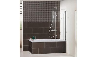 Dusbad Badewannenfaltwand »Vital 1«, Black Edition, Anschlag rechts, 120 cm kaufen