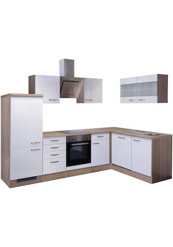 Flex-Well Winkelküche »Florenz«, mit E-Geräten, Breite 280 x 160 cm kaufen