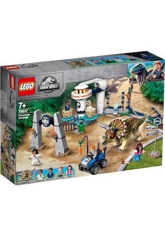 """LEGO® Konstruktionsspielsteine """"Triceratops - Randale (75937), LEGO® Jurassic World™"""", Kunststoff, (447 - tlg.) kaufen"""