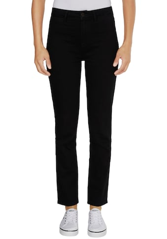 TOMMY HILFIGER Straight - Jeans »RIVERPOINT CIGARETTE HW A BLACK« kaufen