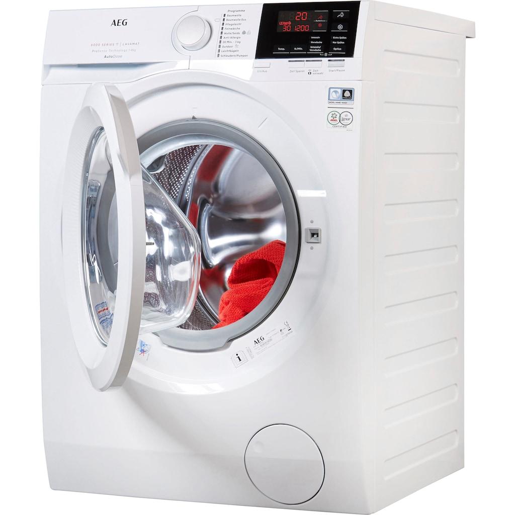 AEG Waschmaschine »L6FB68480«, Serie 6000, L6FB68480, mit AutoDose & WiFi Steuerung