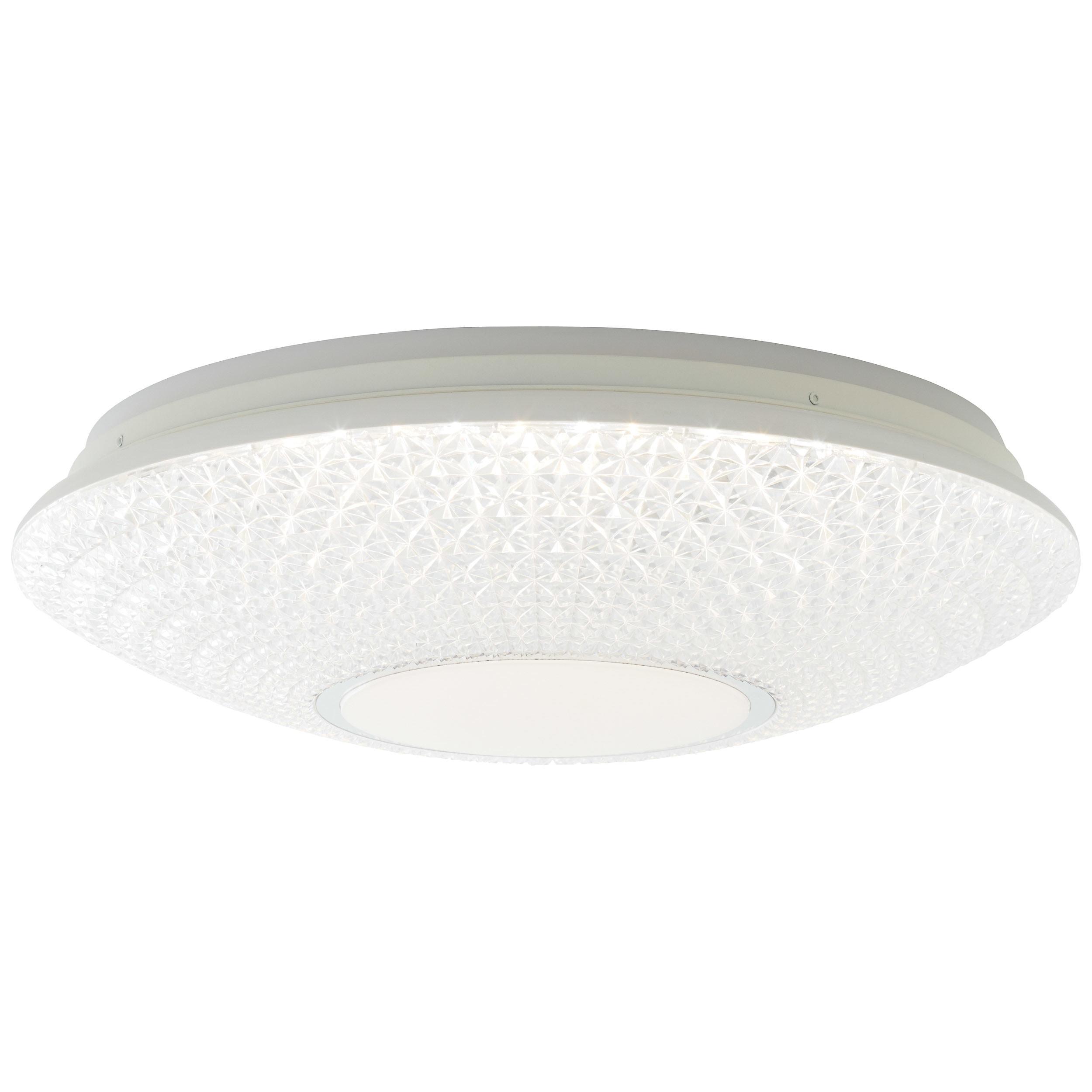 Brilliant Leuchten Lucian LED Deckenleuchte 50cm weiß