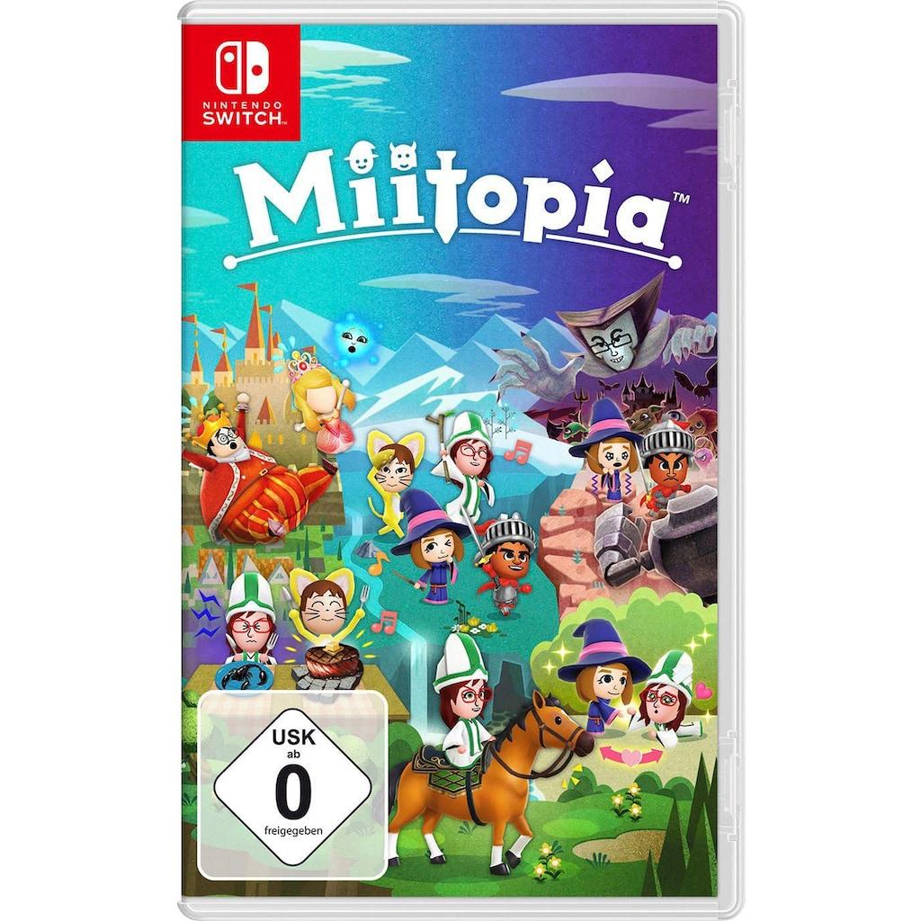 Nintendo Switch Konsolen-Set, inkl. Miitopia