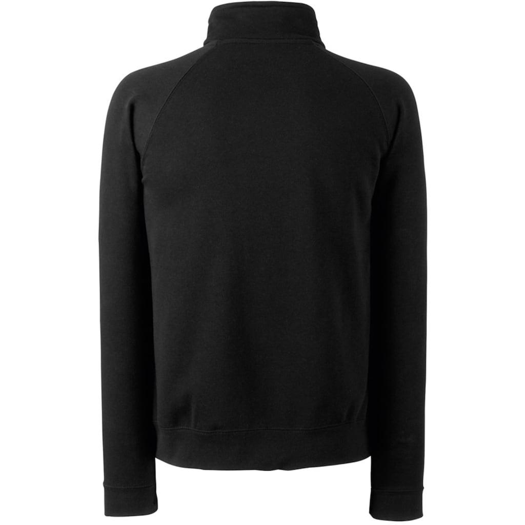 Fruit of the Loom Nickijacke »Herren Sweat-Jacke / Sweatshirt mit Reißverschluss«