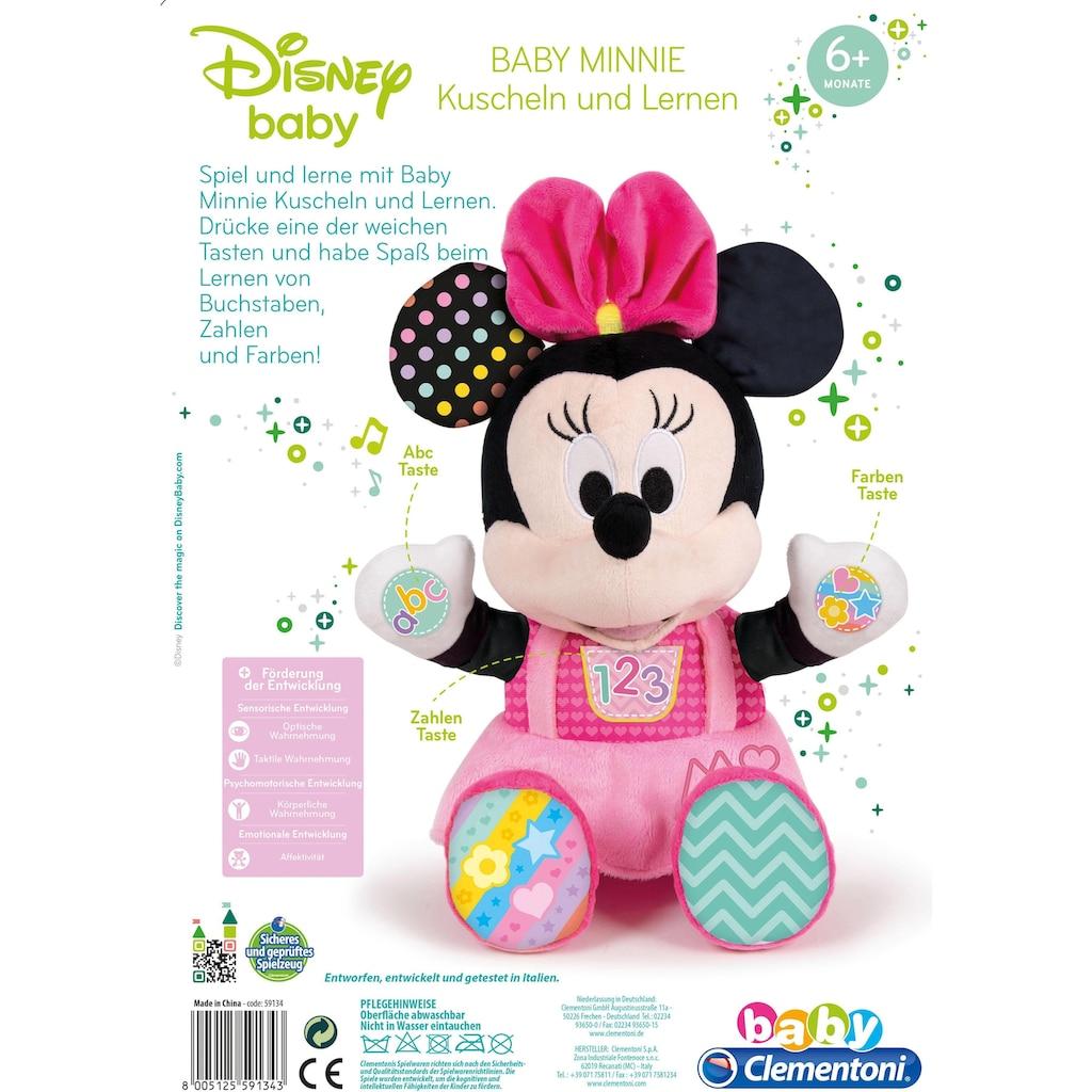 Clementoni® Kuscheltier »Baby Minnie Kuscheln und Lernen«