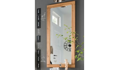 Home affaire Wandspiegel »Dura«, aus schönem massivem Wildeichenholz, Breite 50 cm kaufen