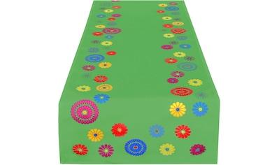 Tischläufer, »FLOWERS«, Delindo Lifestyle kaufen