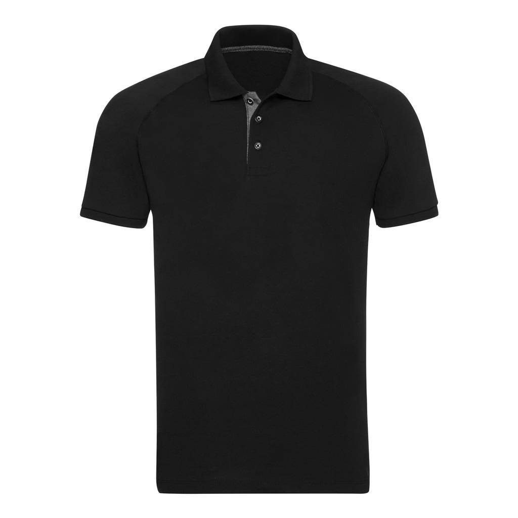 russell -  Poloshirt Herren HD Raglan Jersey Polo Shirt