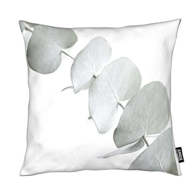 Dekokissen, »Eucalyptus White 3«, Juniqe