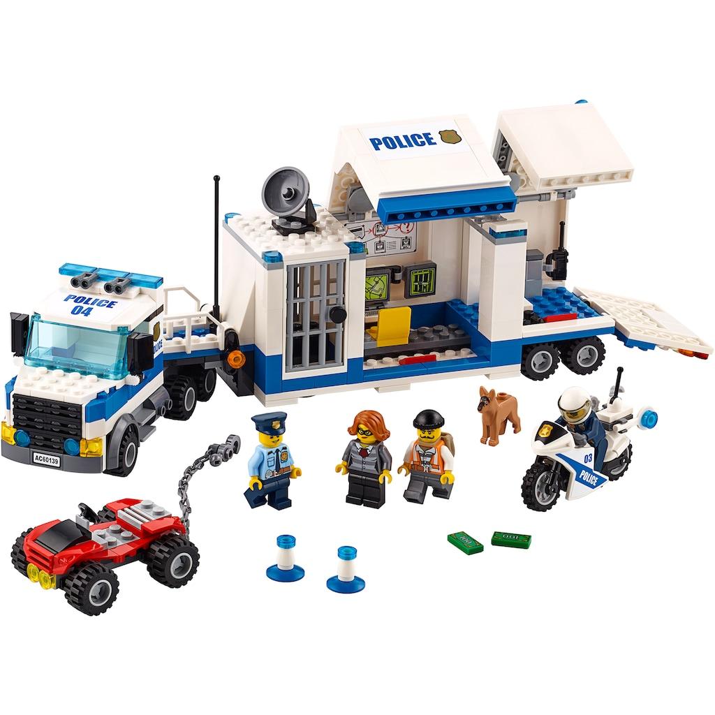 LEGO® Konstruktionsspielsteine »Mobile Einsatzzentrale (60139), LEGO® City«, (374 St.)